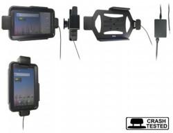 Support voiture  Brodit Samsung Galaxy Tab GT-P1000  sécurisé - Pour une installation fixe. Avec rotule. Avec verrouillage renforcé Pour  étui Otterbox Defender (non livré). Réf 547261