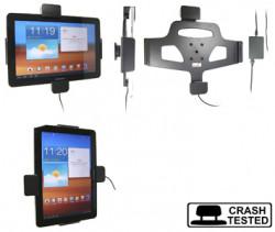 Support voiture  Brodit Samsung Galaxy Tab 10.1 GT-P7500  sécurisé - Support actif pour une installation fixe, avec rotule. Avec verrouillage renforcé Réf 547287