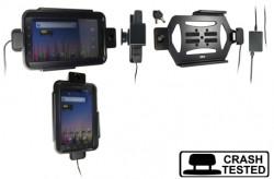 Support voiture  Brodit Samsung Galaxy Tab GT-P1000  antivol - Pour une installation fixe. Avec rotule. 2 clefs. Pour  étui Otterbox Defender (non livré). Réf 536261