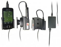Support voiture  Brodit Samsung S5600  installation fixe - Avec rotule, connectique Molex. Chargeur 2A. Réf 513032