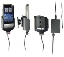 Support voiture  Brodit HTC Hero 200 (CDMA)  installation fixe - Avec rotule, connectique Molex. Chargeur 2A. Réf 513081