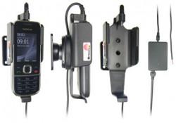 Support voiture  Brodit Nokia 2700 Classic  installation fixe - Avec rotule, connectique Molex. Chargeur 2A. Réf 513087