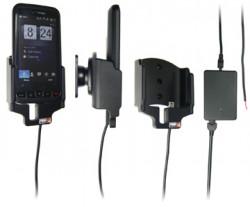 Support voiture  Brodit HTC Imagio  installation fixe - Avec rotule, connectique Molex. Chargeur 2A. Réf 513089