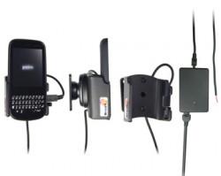 Support voiture  Brodit Palm Pixi  installation fixe - Avec rotule, connectique Molex. Chargeur 2A. Réf 513123