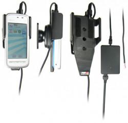 Support voiture  Brodit Nokia 5230  installation fixe - Avec rotule, connectique Molex. Chargeur 2A. Réf 513124