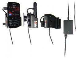 Support voiture  Brodit BlackBerry Curve 8520  installation fixe - Avec rotule, connectique Molex. Chargeur 2A. Réf 513132