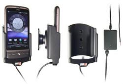 Support voiture  Brodit HTC Desire  installation fixe - Avec rotule, connectique Molex. Chargeur 2A. Réf 513141