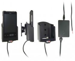 Support voiture  Brodit HTC Aria  installation fixe - Avec rotule, connectique Molex. Chargeur 2A. Réf 513142