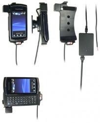 Support voiture  Brodit Sony Ericsson Vivaz Pro  installation fixe - Avec rotule, connectique Molex. Chargeur 2A. Réf 513157