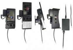 Support voiture  Brodit Sony Ericsson Hazel  installation fixe - Avec rotule, connectique Molex. Chargeur 2A et Pass-Through Connector pour la connectivité casque. Réf 513158