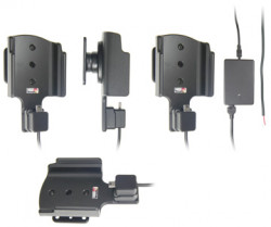 Support voiture  Brodit HTC Tilt 2  installation fixe - Avec rotule, connectique Molex. Chargeur 2A. Réf 513163