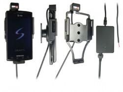 Support voiture  Brodit Samsung Captivate  installation fixe - Avec rotule, connectique Molex. Chargeur 2A. Réf 513173