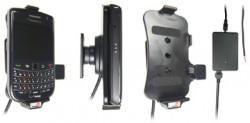 Support voiture  Brodit BlackBerry Bold 9650  installation fixe - Avec rotule, connectique Molex. Chargeur 2A. Réf 513175