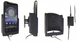 Support voiture  Brodit HTC EVO 4G  installation fixe - Avec rotule, connectique Molex. Chargeur 2A. Surface &quot