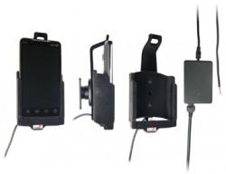 Support voiture  Brodit HTC EVO 4G  installation fixe - Avec rotule, connectique Molex. Chargeur 2A. Pour une position verticale et horizontale plus sûr. Surface &quot
