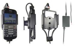 Support voiture  Brodit Nokia E5  installation fixe - Avec rotule, connectique Molex. Chargeur 2A. Réf 513184