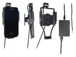 Support voiture  Brodit Samsung Fascinate  installation fixe - Avec rotule, connectique Molex. Chargeur 2A. Réf 513192
