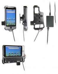 Support voiture  Brodit HTC Desire Z  installation fixe - Avec rotule, connectique Molex. Chargeur 2A. Réf 513200