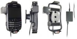 Support voiture  Brodit BlackBerry Curve 9300  installation fixe - Avec rotule, connectique Molex. Chargeur 2A. Réf 513204