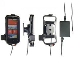 Support voiture  Brodit HTC Mozart  installation fixe - Avec rotule, connectique Molex. Chargeur 2A. Réf 513212