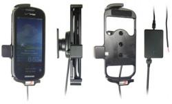 Support voiture  Brodit Samsung Continuum  installation fixe - Avec rotule, connectique Molex. Chargeur 2A. Réf 513215