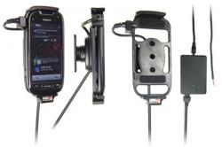 Support voiture  Brodit Nokia 701  installation fixe - Avec rotule, connectique Molex. Chargeur 2A. Réf 513216