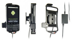 Support voiture  Brodit Motorola Droid  Pro  installation fixe - Avec rotule, connectique Molex. Chargeur 2A. Réf 513217