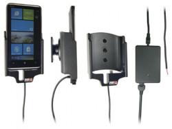 Support voiture  Brodit HTC HD7  installation fixe - Avec rotule, connectique Molex. Chargeur 2A. Réf 513220