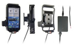 Support voiture  Brodit Motorola Defy  installation fixe - Avec rotule, connectique Molex. Chargeur 2A. Réf 513229
