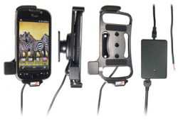 Support voiture  Brodit HTC MyTouch 4G  installation fixe - Avec rotule, connectique Molex. Chargeur 2A. Réf 513234