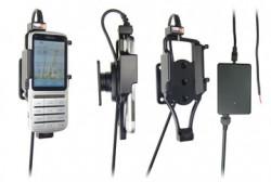Support voiture  Brodit Nokia C3-01  installation fixe - Avec rotule, connectique Molex. Chargeur 2A. Réf 513238
