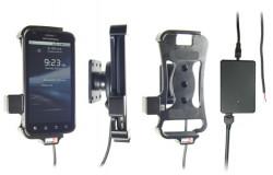 Support voiture  Brodit Motorola Atrix  installation fixe - Avec rotule, connectique Molex. Chargeur 2A. Réf 513241