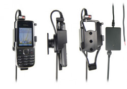 Support voiture  Brodit Nokia C2-01  installation fixe - Avec rotule, connectique Molex. Chargeur 2A. Réf 513250