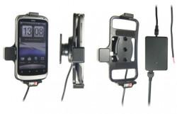 Support voiture  Brodit HTC Desire S  installation fixe - Avec rotule, connectique Molex. Chargeur 2A. Réf 513251