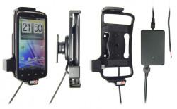 Support voiture  Brodit HTC Sensation  installation fixe - Avec rotule, connectique Molex. Chargeur 2A. Réf 513268