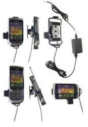 Support voiture  Brodit BlackBerry Torch 9800  installation fixe - Avec rotule, connectique Molex. Chargeur 2A. Réf 513272