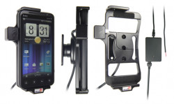 Support voiture  Brodit HTC EVO 3D  installation fixe - Avec rotule, connectique Molex. Chargeur 2A. Réf 513278