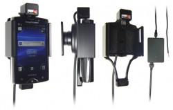 Support voiture  Brodit Sony Ericsson Xperia Mini Pro  installation fixe - Avec rotule, connectique Molex. Chargeur 2A. Réf 513281