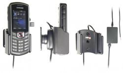 Support voiture  Brodit Samsung Xcover 271 GT-B2710  installation fixe - Avec rotule, connectique Molex. Chargeur 2A. Réf 513291