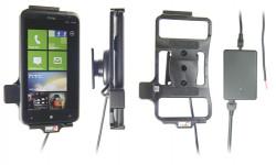 Support voiture  Brodit HTC Titan X310e  installation fixe - Avec rotule, connectique Molex. Chargeur 2A. Réf 513296