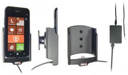 Support voiture  Brodit Samsung Focus S SGH-I937  installation fixe - Avec rotule, connectique Molex. Chargeur 2A. Réf 513313