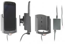 Support voiture  Brodit Samsung Galaxy Nexus SCH-I515  installation fixe - Avec rotule, connectique Molex. Chargeur 2A. Réf 513331