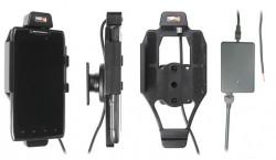 Support voiture  Brodit Motorola Droid Razr MAXX  installation fixe - Avec rotule, connectique Molex. Chargeur 2A. Réf 513362