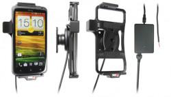 Support voiture  Brodit HTC One X S720e  installation fixe - Avec rotule, connectique Molex. Chargeur 2A. Réf 513377