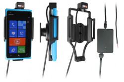 Support voiture  Brodit Nokia Lumia 900  installation fixe - Avec rotule, connectique Molex. Chargeur 2A. Réf 513380
