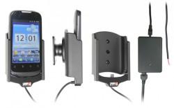 Support voiture  Brodit Huawei U8650  installation fixe - Avec rotule, connectique Molex. Chargeur 2A. Réf 513383