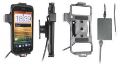 Support voiture  Brodit HTC One S Z520e  installation fixe - Avec rotule, connectique Molex. Chargeur 2A. Réf 513386