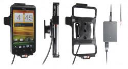 Support voiture  Brodit HTC EVO 4G LTE  installation fixe - Avec rotule, connectique Molex. Chargeur 2A. Réf 513403