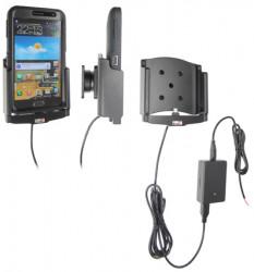 Support voiture  Brodit Samsung Galaxy Note GT-N7000  installation fixe - Avec rotule, connectique Molex. Chargeur 2A. Pour  étui Otterbox Defender (non livré). Réf 513457