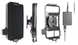 Support voiture  Brodit Motorola Droid Razr Maxx HD  installation fixe - Avec rotule, connectique Molex. Chargeur 2A. Réf 513475